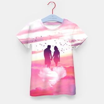 Miniatur Couple of Lovers Kid's t-shirt, Live Heroes