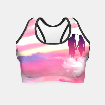 Miniatur Couple of Lovers Crop Top, Live Heroes
