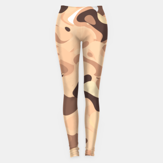 Thumbnail image of Mochaccino mornings, coffee lovers know Leggings, Live Heroes