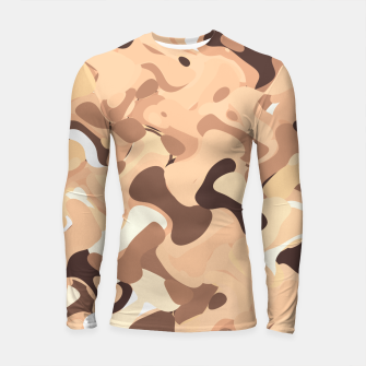 Thumbnail image of Mochaccino mornings, coffee lovers know Longsleeve rashguard , Live Heroes