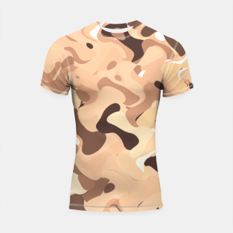 Thumbnail image of Mochaccino mornings, coffee lovers know Shortsleeve rashguard, Live Heroes