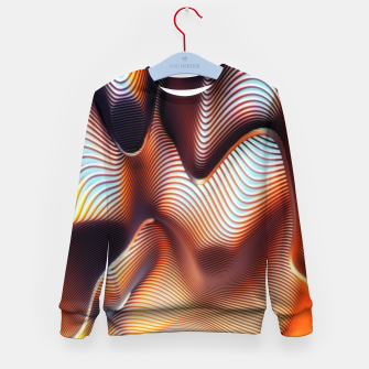 Miniatur Wormhole Kid's sweater, Live Heroes