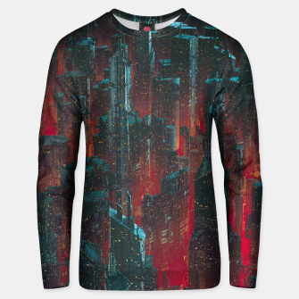 Thumbnail image of Cyberpunk Noir City Unisex sweater, Live Heroes