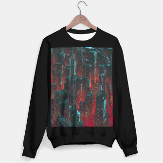 Cyberpunk Noir City Sweater regular Bild der Miniatur