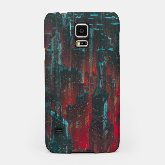 Thumbnail image of Cyberpunk Noir City Samsung Case, Live Heroes