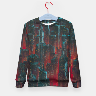Cyberpunk Noir City Kid's sweater Bild der Miniatur