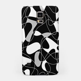 Abstract pattern - black, gray and white. Samsung Case thumbnail image