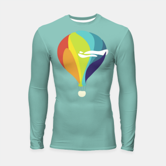 Thumbnail image of Freedom in the sky Longsleeve rashguard , Live Heroes