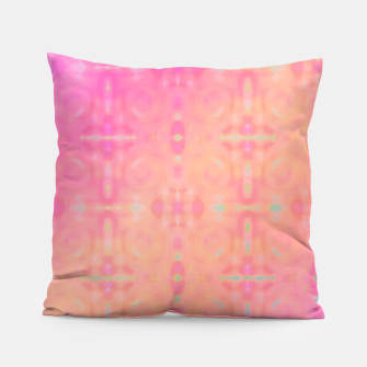 Thumbnail image of Pattern Tie Dye Rose/Jaune Coussin, Live Heroes