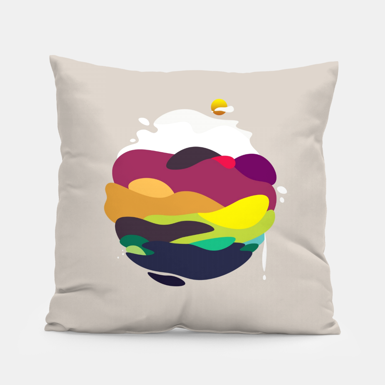 Image of Tender Planet Pillow - Live Heroes