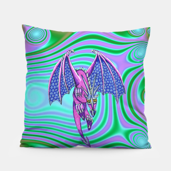 Thumbnail image of Dragon fantasy cushion, Live Heroes