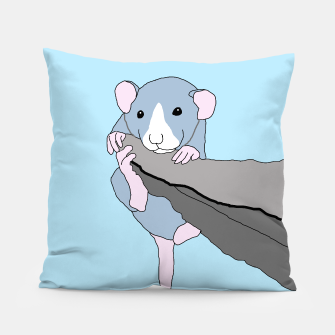 Thumbnail image of Rat bouldering - hanging on, cushion, Live Heroes