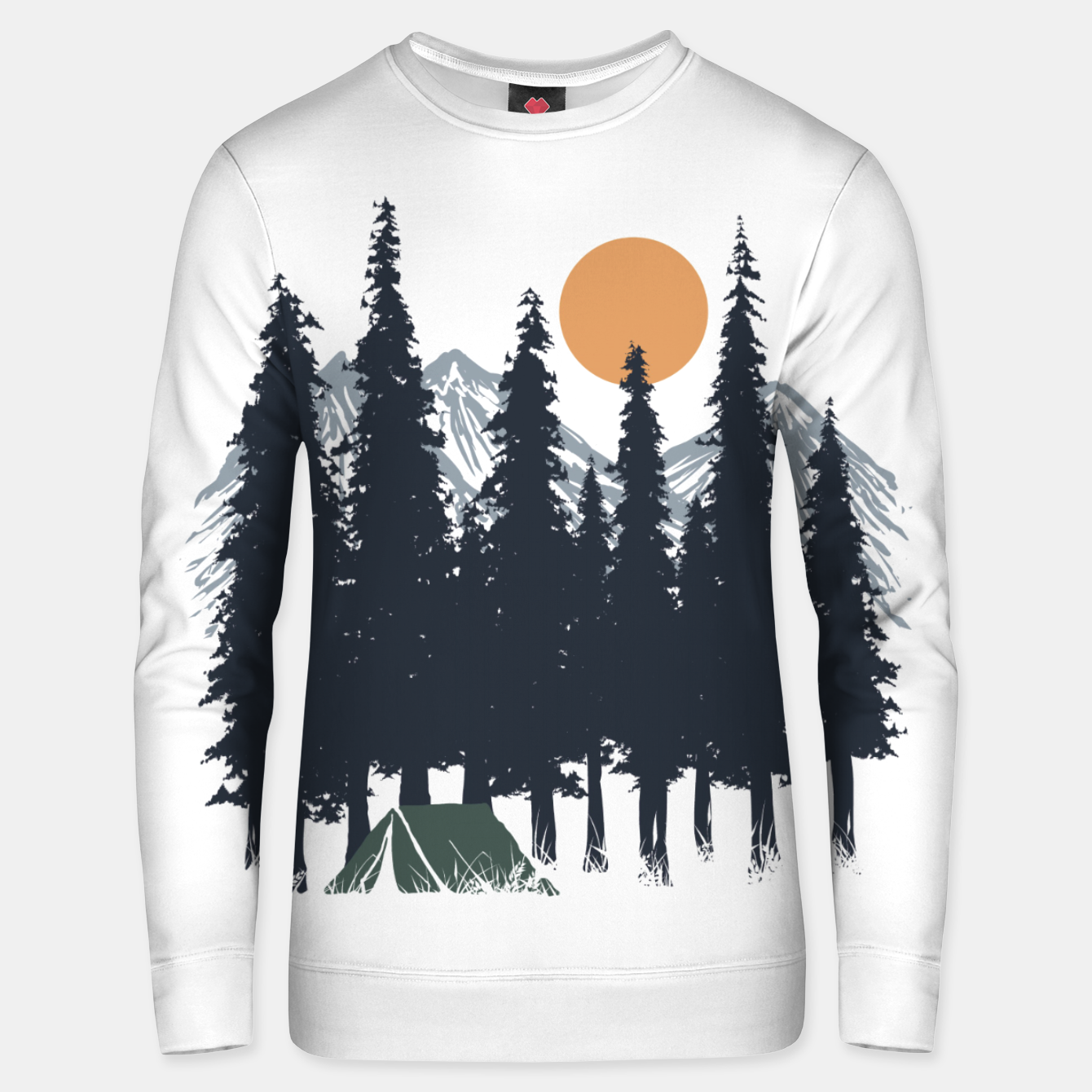 Image of Camping Unisex sweater - Live Heroes
