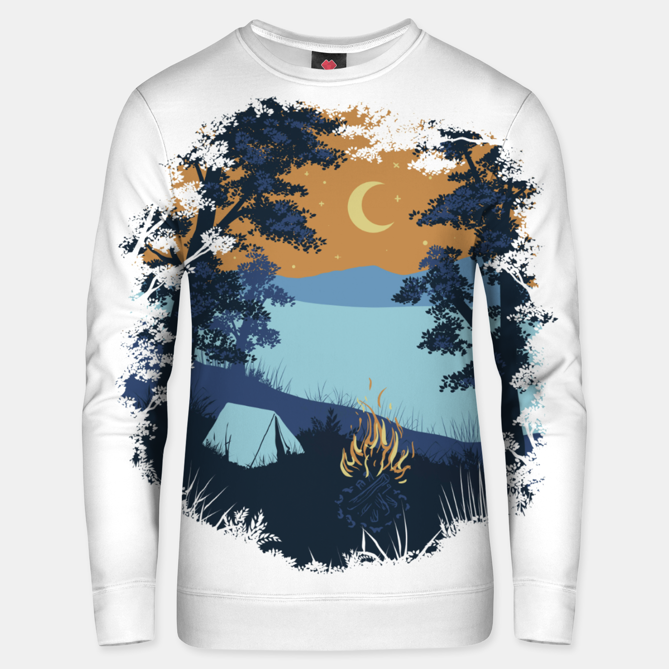 Image of Camp Vibes Unisex sweater - Live Heroes