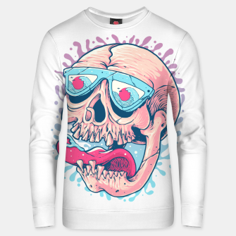 Thumbnail image of Skull Holiday Unisex sweater, Live Heroes