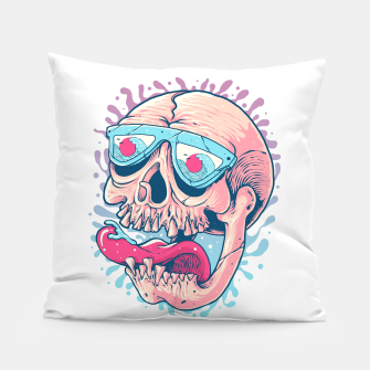 Skull Holiday Pillow thumbnail image