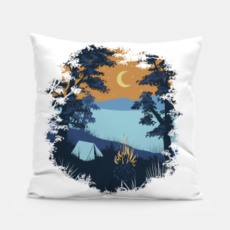 Miniature de image de Camp Vibes Pillow, Live Heroes