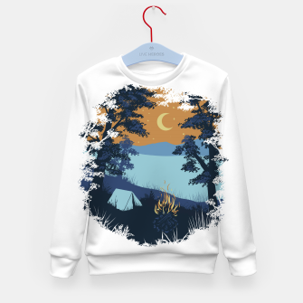 Miniature de image de Camp Vibes Kid's sweater, Live Heroes