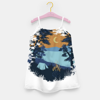 Miniature de image de Camp Vibes Girl's dress, Live Heroes