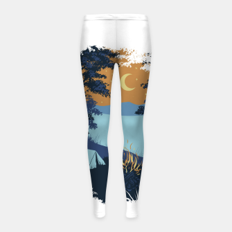 Miniature de image de Camp Vibes Girl's leggings, Live Heroes