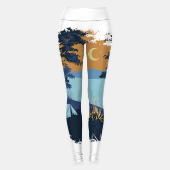 Miniature de image de Camp Vibes Leggings, Live Heroes