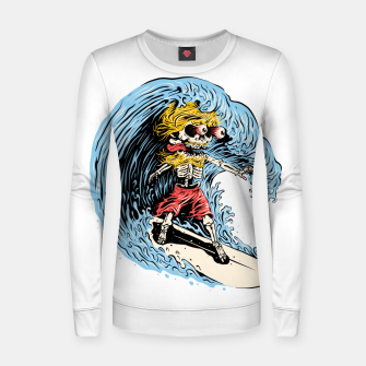 Surfboarding Women sweater miniature