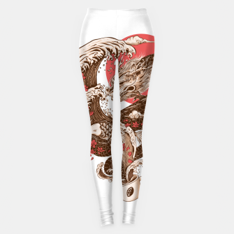 Coffee and Inspiration Leggings miniature