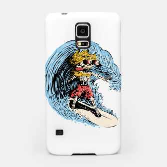 Surfboarding Samsung Case miniature