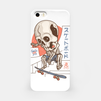 Skullboarding iPhone Case Bild der Miniatur
