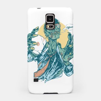 No Coffee Me Zombie Samsung Case miniature