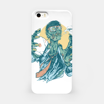 No Coffee Me Zombie iPhone Case Bild der Miniatur