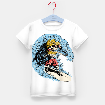Surfboarding Kid's t-shirt miniature