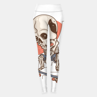 Thumbnail image of Skullboarding Leggings, Live Heroes