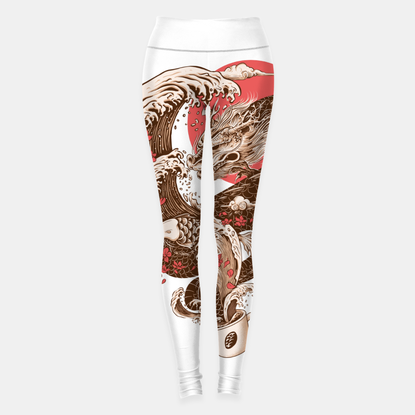 Image de Coffee and Inspiration Leggings - Live Heroes