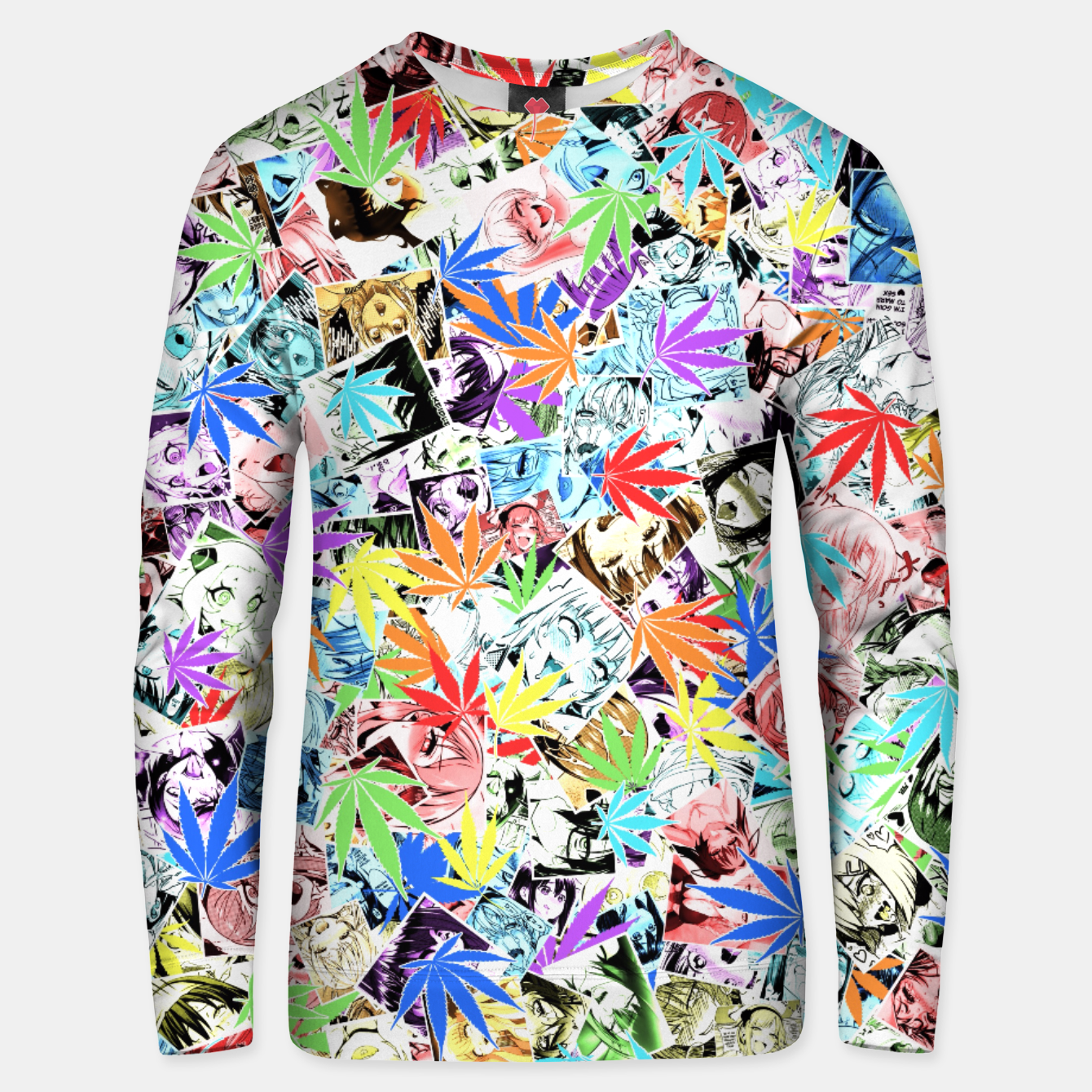 Image of Weed Ahegao Unisex sweater - Live Heroes