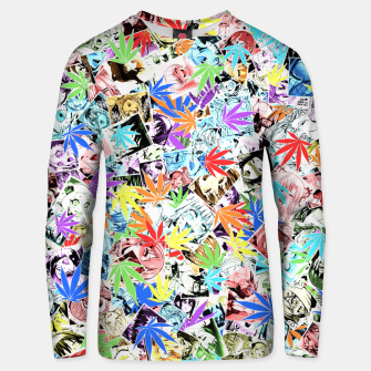 Thumbnail image of Weed Ahegao Unisex sweater, Live Heroes