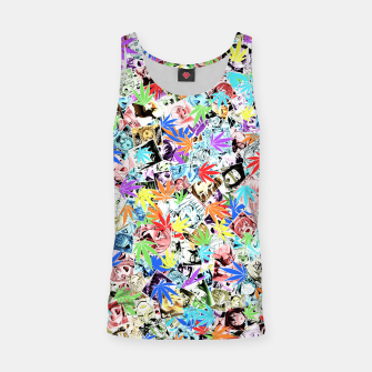 Thumbnail image of Weed Ahegao Tank Top, Live Heroes