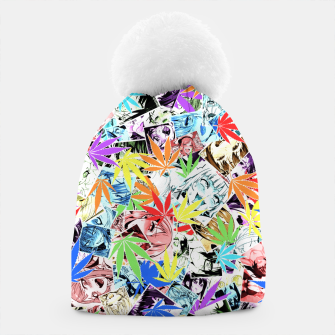 Thumbnail image of Weed Ahegao Beanie, Live Heroes