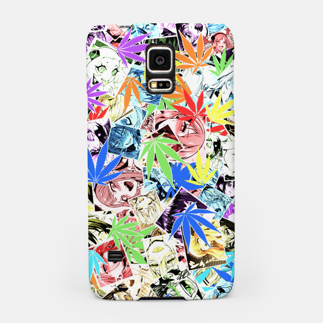 Image of Weed Ahegao Samsung Case - Live Heroes