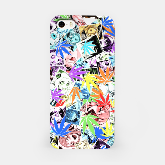 Thumbnail image of Weed Ahegao iPhone Case, Live Heroes