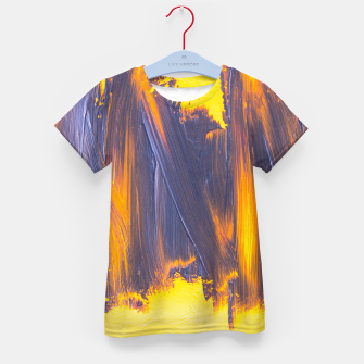 Thumbnail image of Purple Blushes Kid's t-shirt, Live Heroes