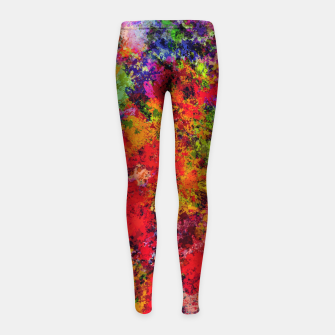 Thumbnail image of Overload Girl's leggings, Live Heroes