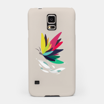 Miniatur Precious secret of the butterfly Samsung Case, Live Heroes