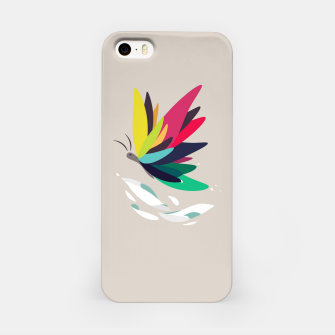 Miniatur Precious secret of the butterfly iPhone Case, Live Heroes