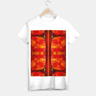 Thumbnail image of Red Canvas Pattern   T-Shirt regulär, Live Heroes