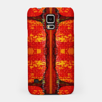 Thumbnail image of Red Canvas Pattern   Handyhülle für Samsung, Live Heroes