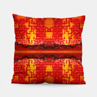 Thumbnail image of Red Canvas Pattern   Kissen, Live Heroes