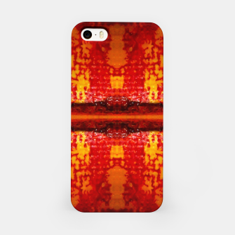 Thumbnail image of Red Canvas Pattern   iPhone-Hülle, Live Heroes