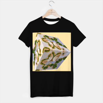 Thumbnail image of Food Cube T-Shirt regulär, Live Heroes