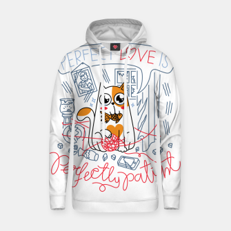 Miniature de image de Perfect Love is Perfectly Patient Hoodie, Live Heroes
